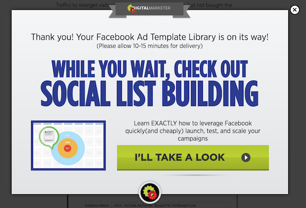 Example Of A Tripwire Digital Marketing Company Blog - Facebook ad template library